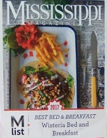 Mississippi Magazine - Best Bed & Breakfast